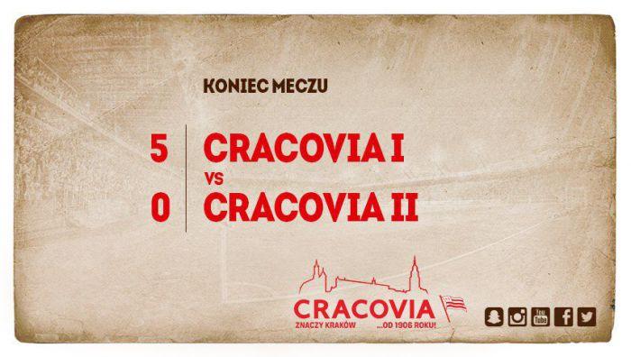 Trening Noworoczny Cracovii. Wysoka wygrana pierwszego zespołu (VIDEO)