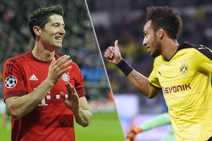 Bayern wygrał rzutem na taśmę z wicemistrzem! Padło 9 goli. Lewandowski wyprzedził Aubameyanga w wyścigu o koronę!