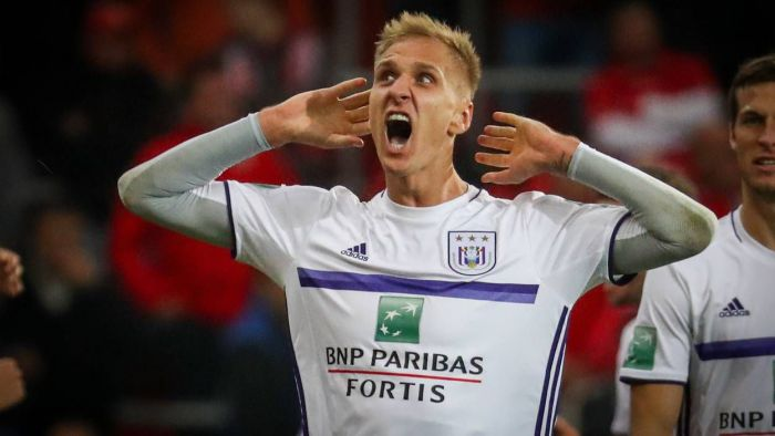 Teodorczyk przerwał fatalną serię bez gola. Pobił rekord Anderlechtu i dał