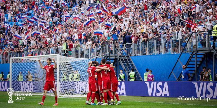 Rosja udanie inauguruje Puchar Konfederacji