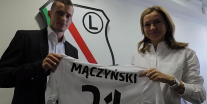 Mączyński przyznał, że Legia przyniosła wstyd. ,,Nie można schować głowy w piasek