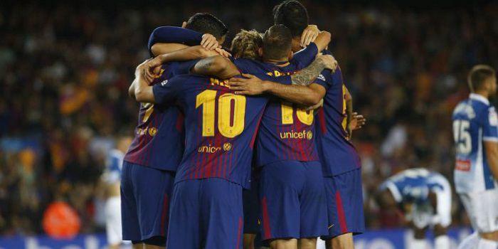 Barcelona nic sobie nie robi z odejścia Neymara. Messi z hat-trickiem, Dembele z asystą w debiucie (VIDEO)