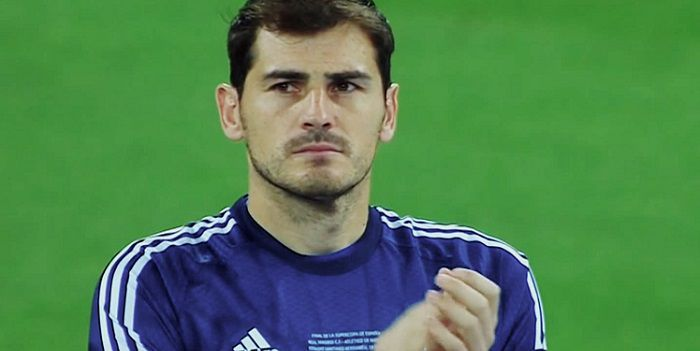 Iker Casillas ze ,,Smoka