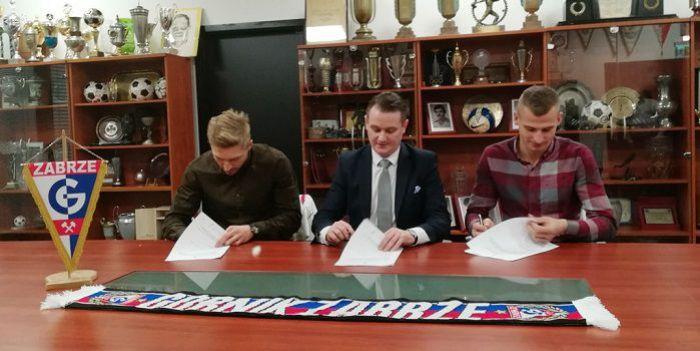 Prezent pod choinkę. Górnik przedłużył umowy z dwoma ważnymi piłkarzami