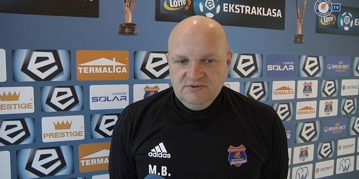 Już po pierwszej wiosennej kolejce pierwszy trener straci pracę? Maciej Bartoszek na wylocie z Bruk-Bet Termaliki!