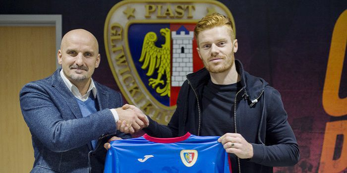 Piast Gliwice zrealizował swój cel transferowy. Mikkel Kirkeskov podpisał kontrakt