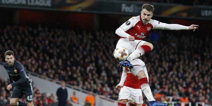 Arsenal chce do Ligi Mistrzów przez Ligę Europy. Rozbił CSKA. Świetny gol Ramsey'a!