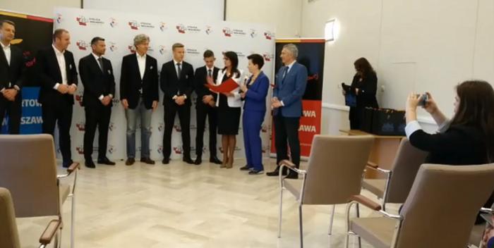 Gratulacje dla mistrzowskiej Legii: Zbigniew Boniek wysłał list, Prezydent HannaGronkiewicz-Waltz przyjęła w ratuszu
