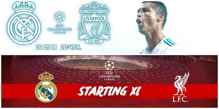 Znamy składy na finał Ligi Mistrzów: Real - Liverpool FC