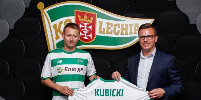 Wychowanek Zagłębia Lubin podpisał umowę z Lechią Gdańsk. Chce być lepszym piłkarzem