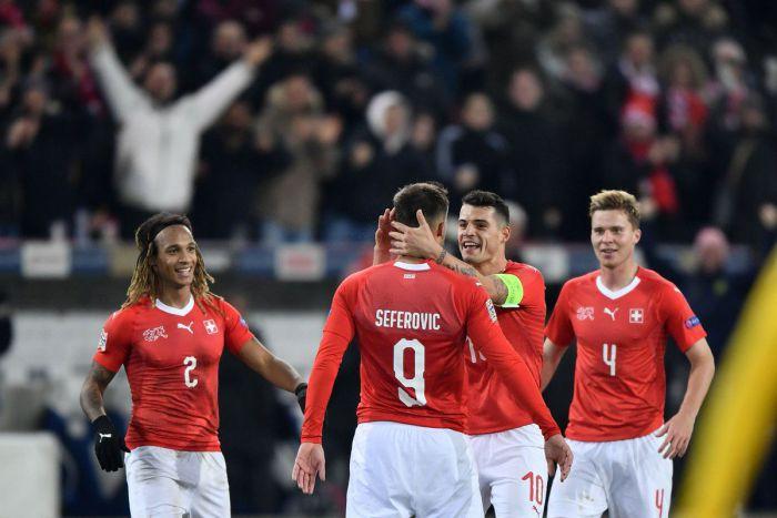 Wielki mecz Szwajcarii. Helweci odesłali Czerwone Diabły z raju i sami zagrają w finałach Ligi Narodów