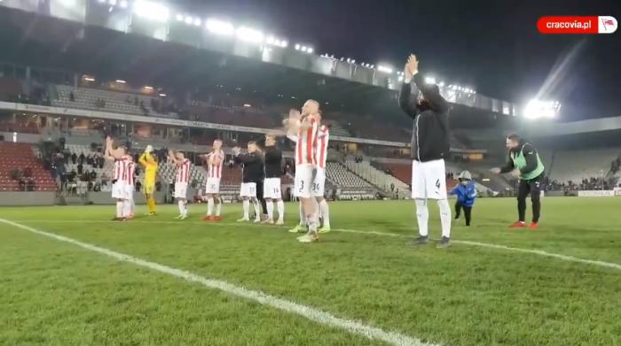 Cracovia wygrała piąty mecz z rzędu. Probierz nie ukrywa, że celem Pasów nie jest ósemka, a podium!