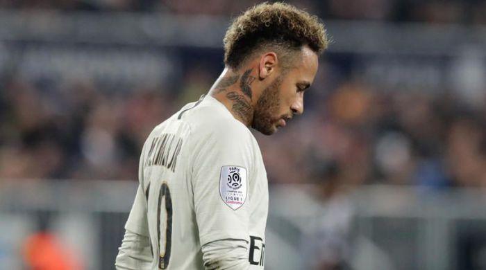 Neymar uderzył kibica po finałowym meczu Pucharu Francji (Wideo)