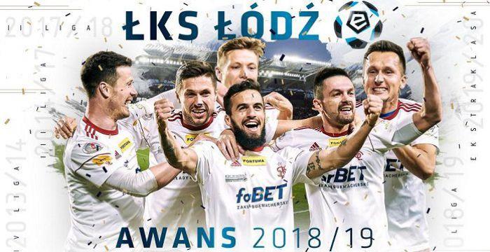 ŁKS Łódź po 7 latach wraca do Lotto Ekstraklasy. Łukasz Sekulski dubletem przypieczętował awans
