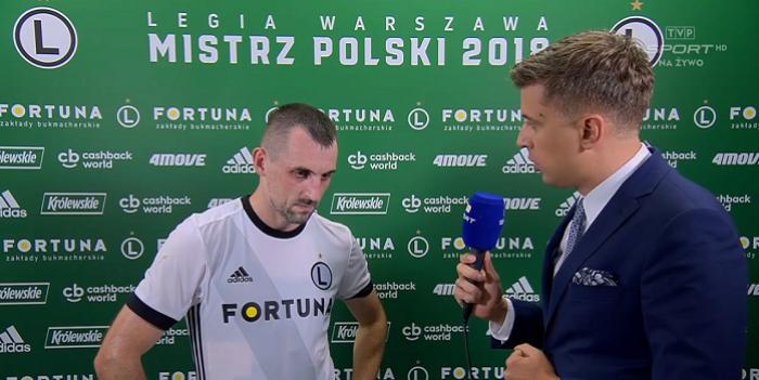Michał Kucharczyk usłyszał, że nie ma dla niego już miejsca w Legii Warszawa