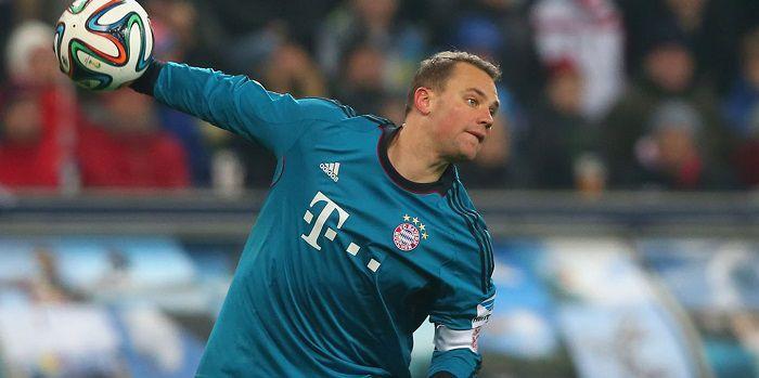Manuel Neuer ośmieszył rywali. Szalone zagranie niemieckiego bramkarza (Wideo)