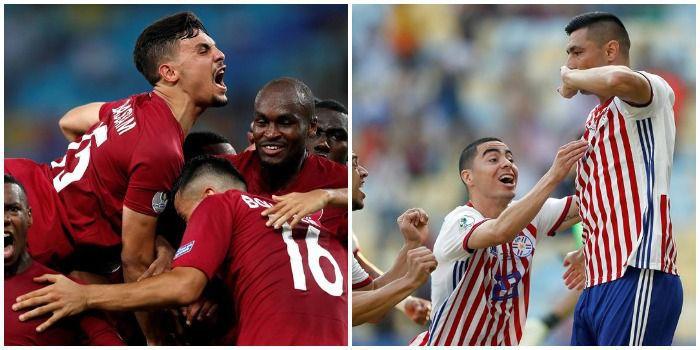Niespodzianka na koniec pierwszej kolejki grupy B. Paragwaj zawodzi, Katar się raduje