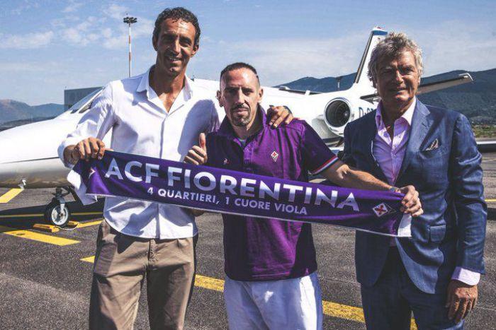 Oficjalnie: Franck Ribery został piłkarzem ACF Fiorentina. Zagra z Polakami