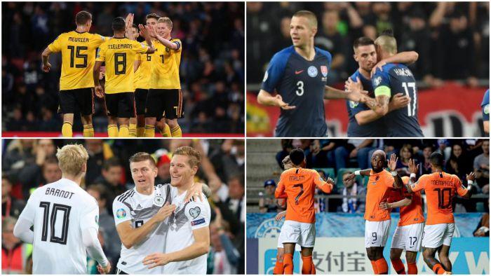 Wpadka Chorwacji, szczęśliwa wygrana Rosji, efektowne zwycięstwa Belgii, Holandii i Cypru! Niemcy ograli lidera, a Słowacy kluczowy mecz