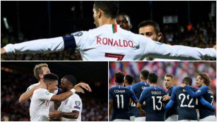 Anglicy znowu zdobyli 5 bramek, ale waleczne Kosowo ich postraszyło! 4 gole Ronaldo na Litwie i niezbyt wysoka wygrana Francji z outsiderem z pudłem Griezmanna z karnego!