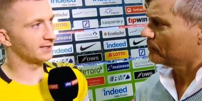 Gwiazdor Borussii Dortmund wściekł się na reportera. Padły ostre słowa