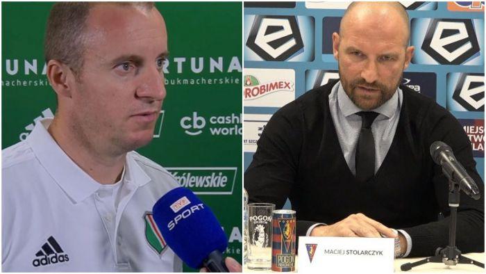 Vuković i Stolarczyk po Legia - Wisła 7:0! Pierwszy apeluje o zejście na ziemię, drugi po prostu przeprasza