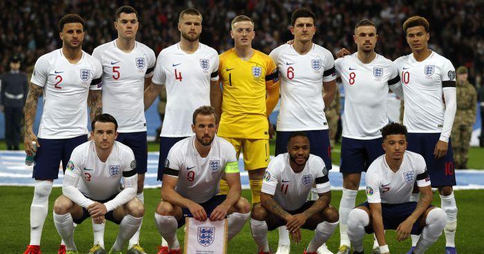 Wyjątkowe numery na koszulkach piłkarzy reprezentacji Anglii w meczu z Czarnogórą