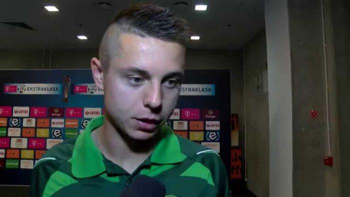 Ariel Borysiuk z golem w ostatniej kolejce! Jego zespół został mistrzem