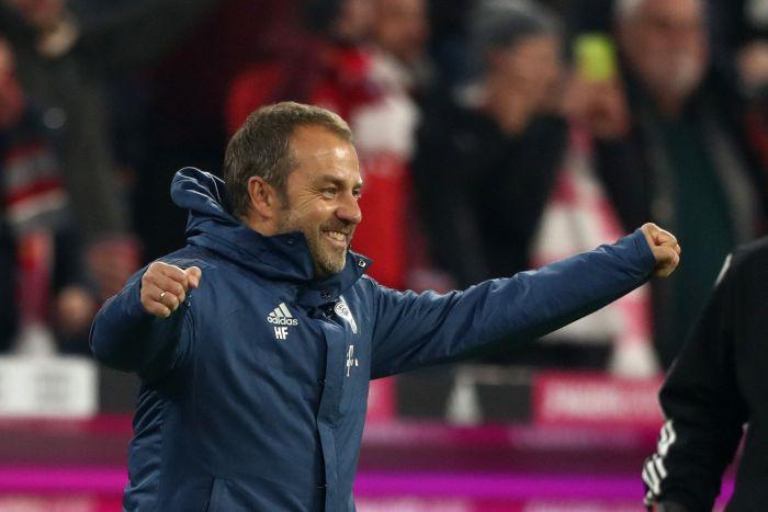 Hans-Dieter Flick przez sobotnim meczem z Schalke 04: