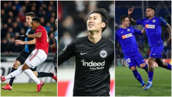 Hat-trick Japończyka, remis Manchesteru United, Inter prawie pewny awansu!