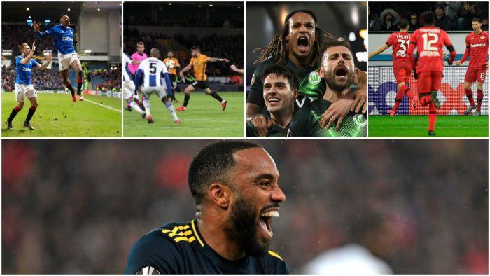 Arsenal wywalczył zaliczkę na wyjeździe, wielki mecz Portugalczyków z Wolverhampton, Rangers FC od 0:2 do wygranej!