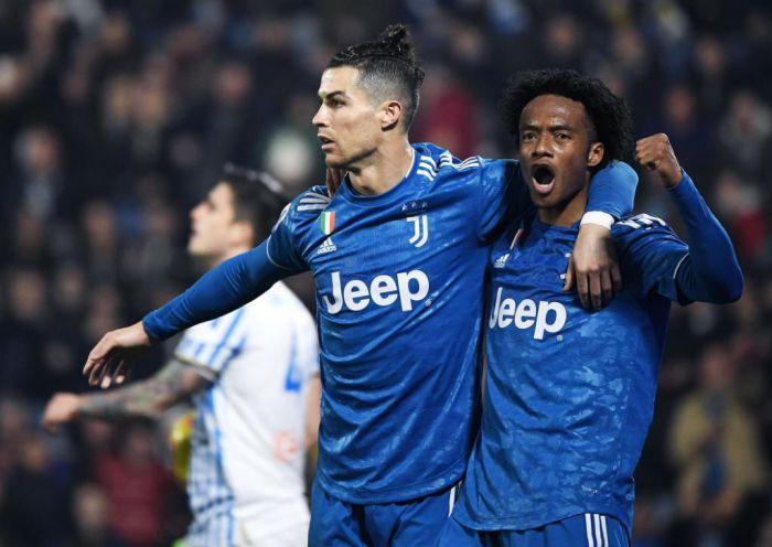Juventus nie zachwycił w meczu ze słabeuszem. Cristiano Ronaldo kontynuuje kapitalną serię! Wojciech Szczęsny pokonany