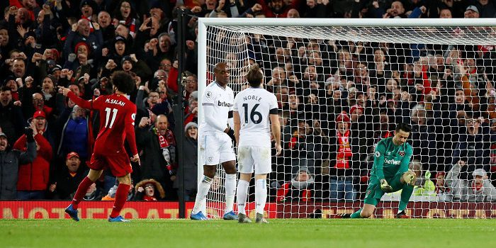 Koszmarny wieczór Łukasza Fabiańskiego. West Ham mógł wygrać na Anfield, ale Polak podał Liverpoolowi pomocne dłonie...