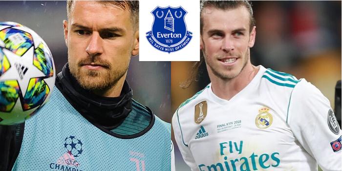 Wielkie transferowe plany Evertonu. Walijski duet Gareth Bale - Aaron Ramsey znowu w Premier League?