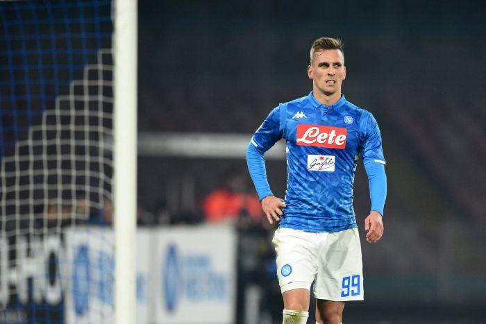 Napoli chce ukarać Arkadiusza Milika za chęć odejścia z klubu
