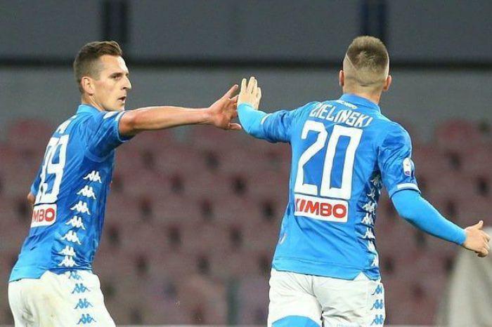 Włoskie media oceniły grę Milika i Zielińskiego w finale Pucharu Włoch