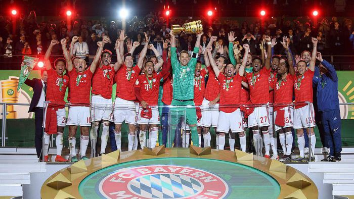 Bayern świętował dublet na całego! Lewandowski i koledzy bawili się do białego rano