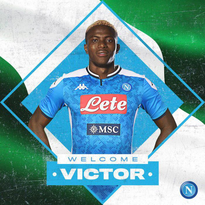 OFICJALNIE: Victor Osimhen w SSC Napoli