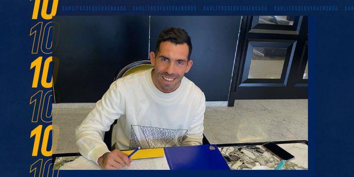 OFICJALNIE: Carlos Tevez na dłużej w Boca Juniors