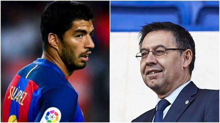 Co za bałagan w FC Barcelona. Luis Suarez wściekły. Wszystko przez decyzję Josepa Bartomeu