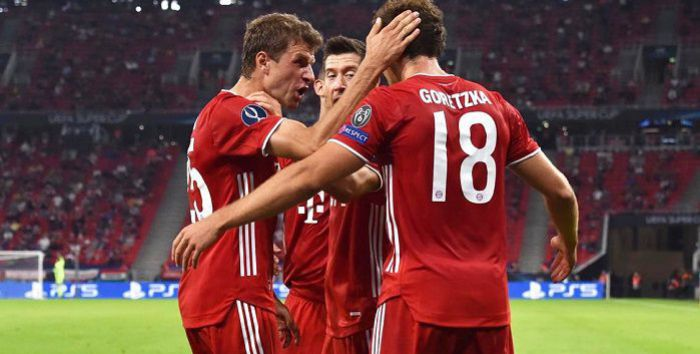 Lewandowski z gola i dwóch asyst został z jedną asystą... Bayern sięgnął po Superpuchar Europy
