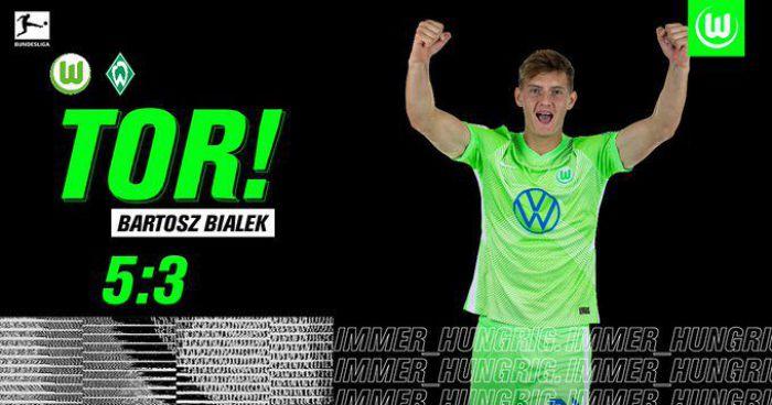 Bartosz Białek się doczekał 19-latek strzelił debiutanckiego gola w Bundeslidze (VIDEO)