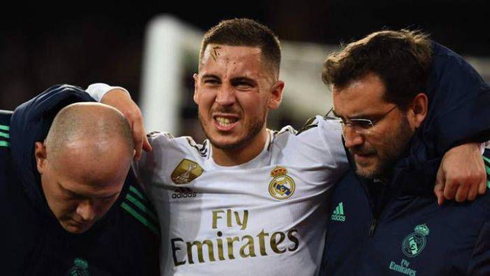 Belgijskie kłopoty Realu. Hazard znowu z kontuzją, Courtois zawalił gola... Królewscy sensacyjnie przegrali w Madrycie