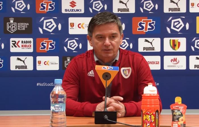 Waldemar Fornalik po meczu z Legią Warszawa.