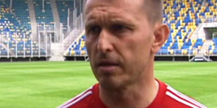 Leszek Ojrzyński po przegranym meczu z Pucharze Polski z Piastem.