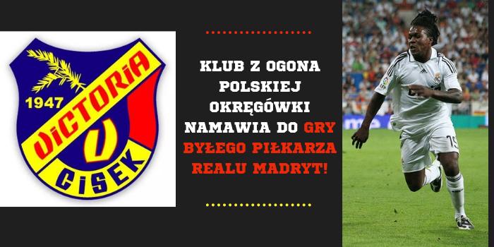Klub z polskiej okręgówki namawia na grę byłego zawodnika Realu Madryt!