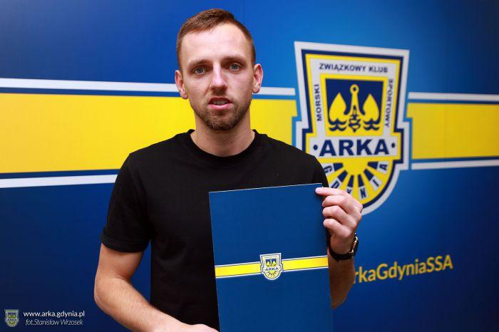 Arka Gdynia ma nowego pomocnika. Ostatnio grał w II lidze, ale był też w Ekstraklasie