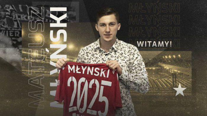 Wisła Kraków sięgnęła po wielki talent. Mateusz Młyński zagra w Białej Gwieździe