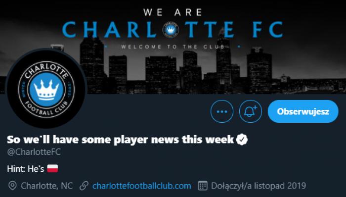 Klub, który zadebiutuje w MLS zapowiada transfer Polaka. Wiemy, o kogo chodzi!