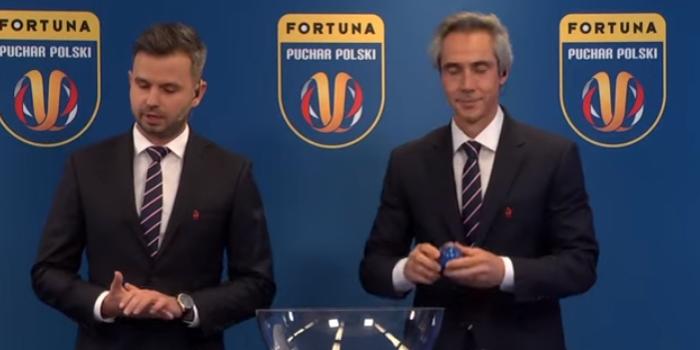 Znamy pary półfinałowe Pucharu Polski. Wylosował je Paulo Sousa (VIDEO)